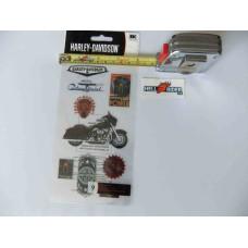 Harley Davidson -  Decal Sticker - HDFL11   - 9 Pc
