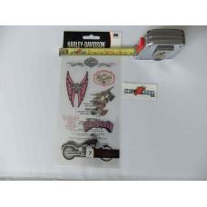 Harley Davidson -  Decal Sticker - HDPLO6 - 7 Pc
