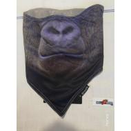 Worm Biker Face Mask by Meartfly - Gorilla
