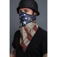 Neoprenová motorkářská maska - Vintage Antique Americana