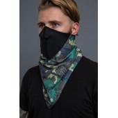Neoprenová motorkářská maska - maskáčová