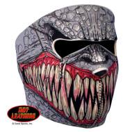 Face mask - neoprenová maska - ochrana celého obličeje lebka