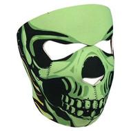 Biker Skull Neoprene Face Mask by Hot Leathers