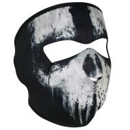 Neoprenová maska na obličej lebka skull od ZANheadgear