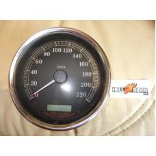 Harley Davidson Speedometer, kph, Softail 67411-04