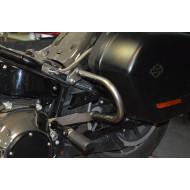 2018 Harley Davidson Sport Glide Rear Guard Crash Bar in black