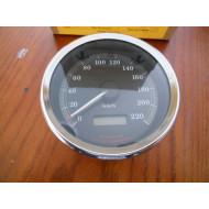 "Harley Davidson Gauge Speedometer in kmh Sportster 4"" 67404-99A"
