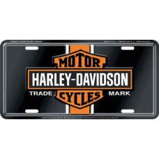 Harley Davidson - vintage logo License Plate Tin Sign