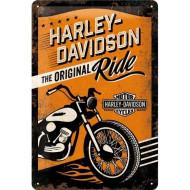Plechová cedule Harley-Davidson The Original Ride 20x30cm