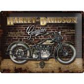 Plechová cedule - Harley Davidson 1933 VLE 40x30