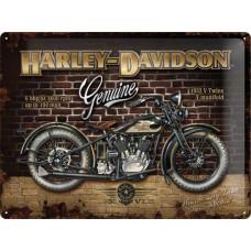 1933 Harley Davidson VLE steel sign 16x12
