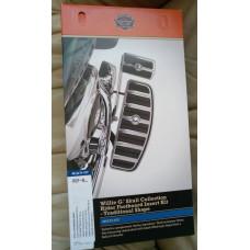 Harley Davidson Willie G Skull Rider Footboard Insert Kit 50710-04