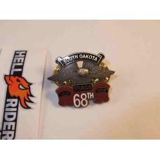 1938-2008 Harley Sturgis 68th South Dakota Pin