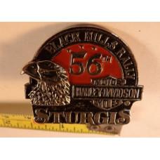 1996 Sturgis Black Hills Rally 56th Anniversary Pin