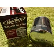 Magnetic Chrome Oil Filter for Harley V-rods