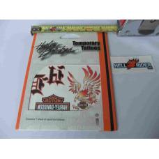 Harley Davidson - Tattoo Sheet