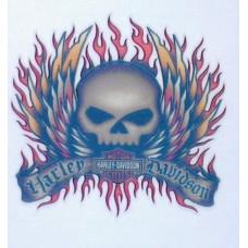 Harley Davidson Temporary Tattoo - #1