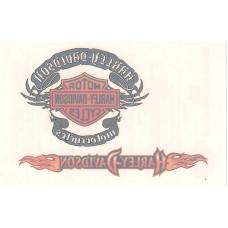 Harley Davidson Temporary Tattoo - #5