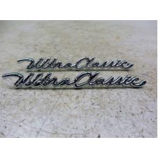 2pcs Harley Davidson Front Fender nameplate set for Ultra Classic #59236-97A