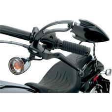 Černé páčky Drag Specialties pro Harley Davidson 1996-2013