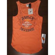 Harley Davidson dámské růžové tílko Restless Spirit, vel. XL