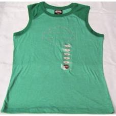 Dámské triko bez rukávů  Harley Davidson zelené, vel.  M