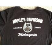 Harley Davidson dámské černé triko s dlouhým rukávem 105. výročí, vel.asi M