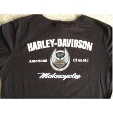 Harley Davidson 105th Anniversary Women's Long Sleeve Shirt Large