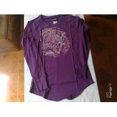 Harley Davidson, shirt, Purple