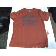 Harley-Davidson Men's Billboard Graphic Slim Fit Short Sleeve Tee 96090-18VM 3XL