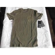 Harley-Davidson Radial Logo Men's V-Neck Khaki T-shirt, Size S, M