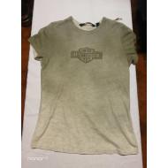 Harley-Davidson Women's Ombre Effect Tinted Logo Short Sleeve Tee 96297-18VW, Medium