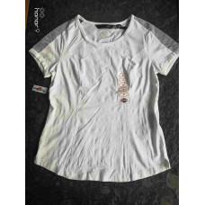 Harley Davidson 3D Mesh Shoulder Women's T-shirt, White