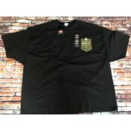 Pánské černé triko s krátkým rukávem, Harley-Davidson Hot Harley Nights, vel. 5XL
