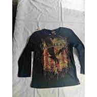 Harley Davidson Women's Print Front T-shirt, S