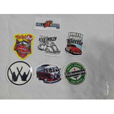 6pcs Volkswagen Decal