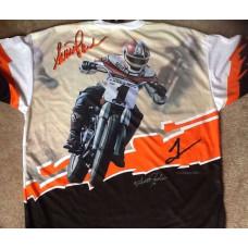 Harley Davidson pánské sportovní triko Racing Scott Parker XL