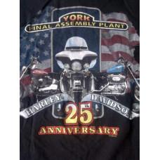 Triko Harley Davidson Final Assembly Plant, vel.S