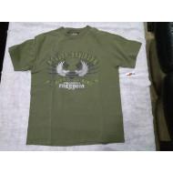 Pánské khaki triko Harley-Davidson s krátkým rukávem Unlimited Freedom, M