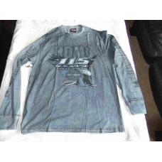 Harley Davidson, Men's Long Sleeve shirt, Blue, size L 115th Anniversary