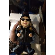 Harley-Davidson Lady Biker Themed Polystone Garden Gnome, 4.5 x 11 in. 544902C