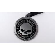 "Harley-Davidson Skull Ornament Pendant 2,3"""