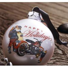 Harley Davidson Christmas Ornament 96808-13V