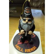 Harley-Davidson Garden Gnome Figure for good luck 9