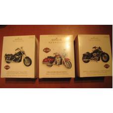 Harley Davidson Streetbob, Road King or Nightster Christmas Ornament