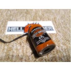 Vánoční ozdoba plechovka oleje Genuine Harley Oil