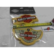 2pcs Harley Davidson Brown gift tag