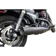 Výfuky S&S Cycles pro Harley Davidson Street 500 nebo 750 #550-0703