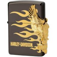 Harley Davidson rare Japan Zippo Lighter 24k Gold - limited edition