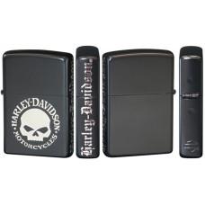 Harley Davidson Black Zippo lighter from Japan Willie G Skull Limited Edition